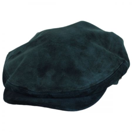 Kangol Italian Suede Leather Ivy Cap