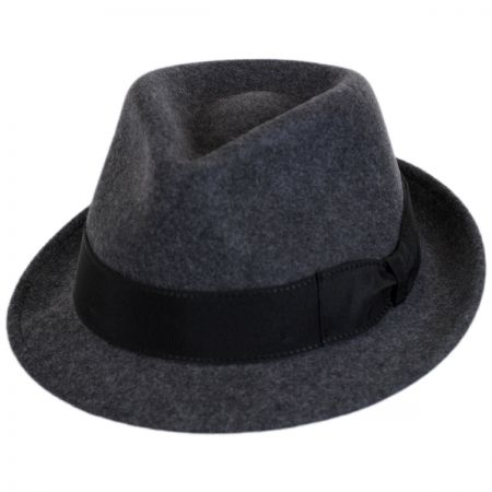 Tear Drop Wool Felt Trilby Fedora Hat alternate view 9