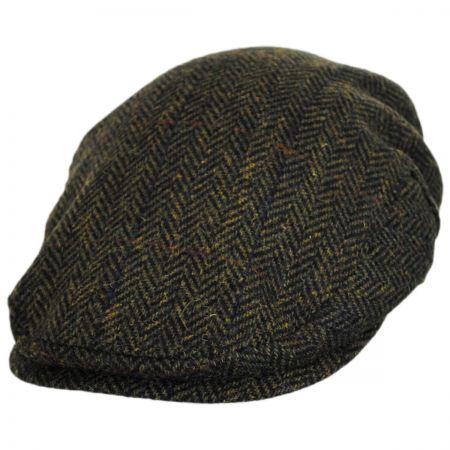 Stefeno Gillies Herringbone Wool Ivy Cap