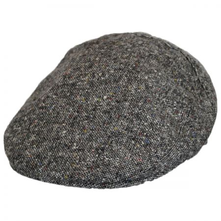 Stefeno Flint Tweed Wool Ivy Cap