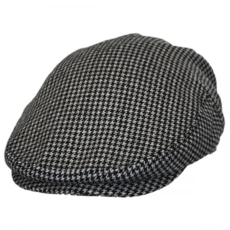 Baskerville Hat Company Houndstooth Wool Ivy Cap