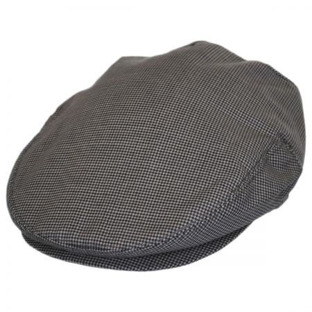Baskerville Hat Company Micro Check Wool Ivy Cap