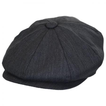 B2B Baskerville Hat Company Lightweight Wool Newsboy Cap