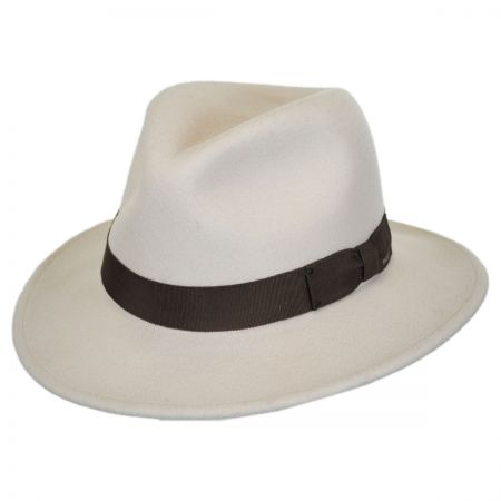 Curtis Wool Felt Safari Fedora Hat