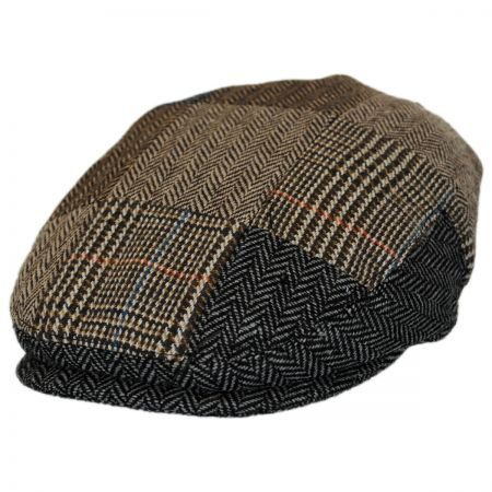 Jaxon Hats Kids' Herringbone Patchwork Ivy Cap