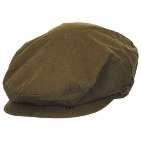 Wax Cotton Earflap Ivy Cap