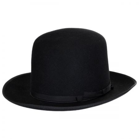 Borsalino - F.A.B. Fur Felt Shapeable Open Crown Fedora Hat alternate view 1
