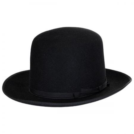 Borsalino Borsalino - F.A.B. Fur Felt Shapeable Open Crown Fedora Hat