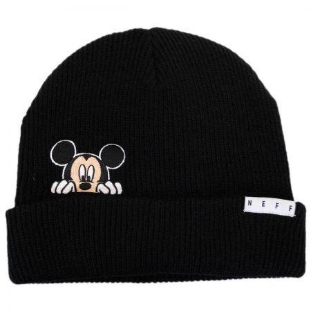 Disney Mickey Peek Knit Cuff Beanie Hat