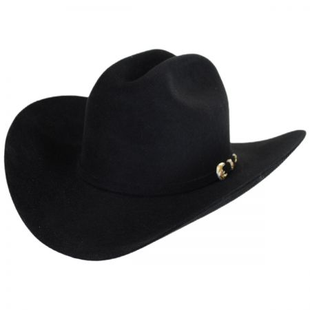 Real 6X Fur Felt Cattleman Western Hat - Made to Order alternate view 9