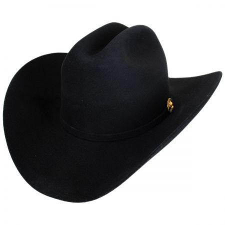 Norte 5X Fur Felt Cattleman Western Hat - Made to Order alternate view 29