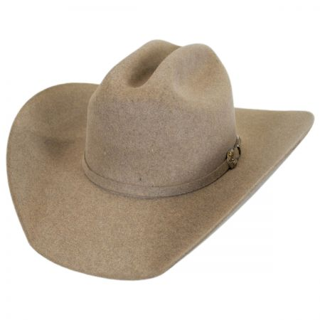 Larry Mahan Hats Legend 5X Fur Felt Cattleman Western Hat