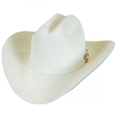 Larry Mahan Hats Opulento 30X Fur Felt Cattleman Western Hat