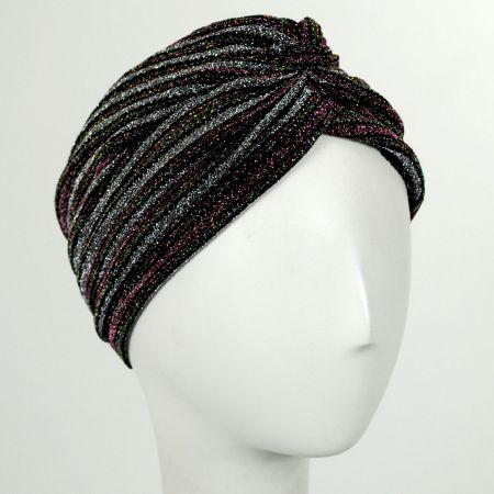 Metallic Stripe Turban alternate view 4