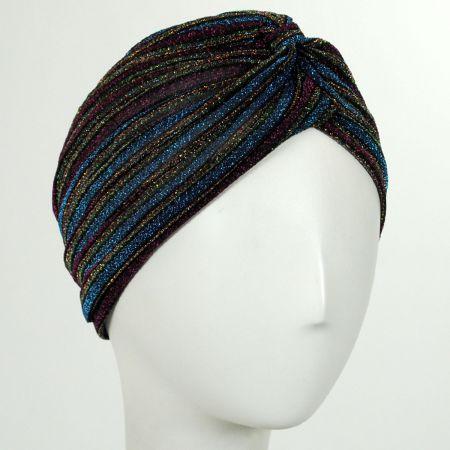 Metallic Stripe Turban alternate view 10