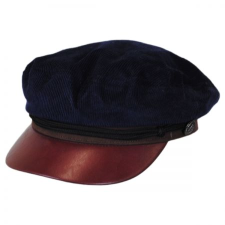 Corduroy Sailor Fiddler's Cap alternate view 1