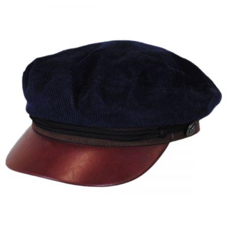 Jeanne Simmons Corduroy Sailor Fiddler's Cap