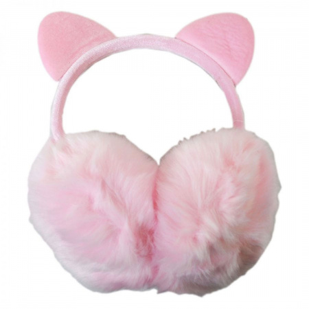 Jeanne Simmons Cat Velvet and Faux Fur Earmuffs