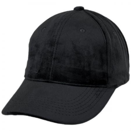Jeanne Simmons Velvet Strapback Baseball Cap