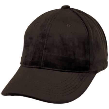 f188b03a1 Velvet Strapback Baseball Cap Dad Hat