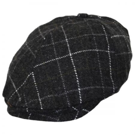 Jeanne Simmons Toddlers' Windowpane Plaid Duckbill Ivy Cap