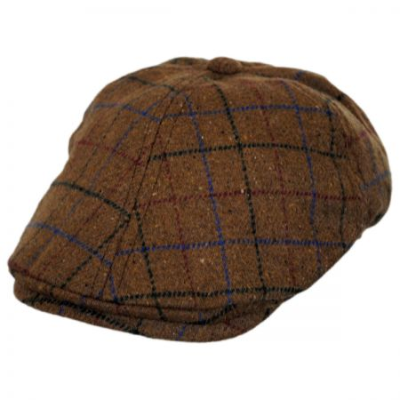 Toddlers' Windowpane Plaid Duckbill Ivy Cap