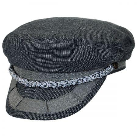Brixton Hats Athens Linen Fisherman Cap