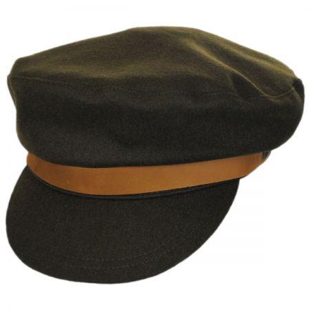 Brixton Hats Kurt Wool Blend Fiddler Cap