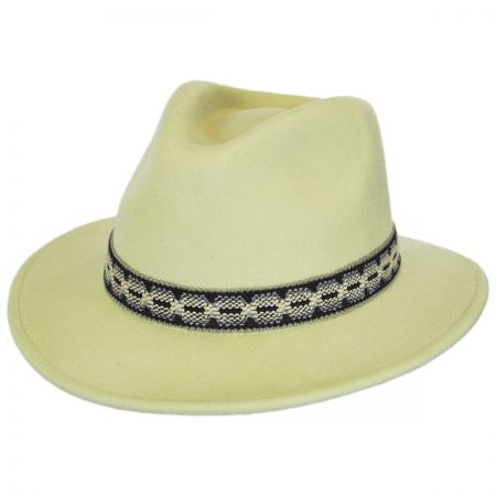 Brixton Hats Fiona Wool Felt Fedora Hat
