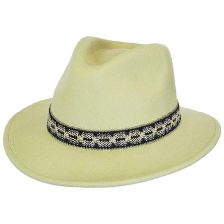 Fiona Wool Felt Fedora Hat alternate view 1
