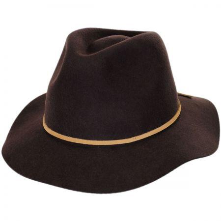Brixton Hats Wesley 'The Neutrals' Wool Felt Floppy Fedora Hat