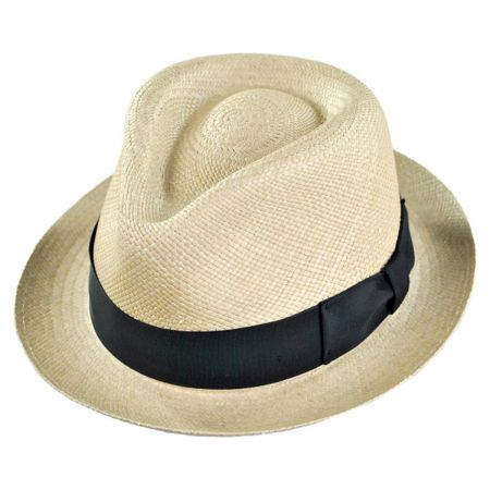 Havana Panama Straw Fedora Hat alternate view 15