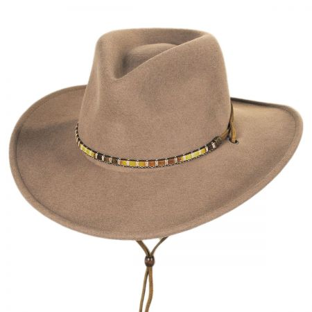 Bailey Columbia Crushable Wool LiteFelt Western Hat