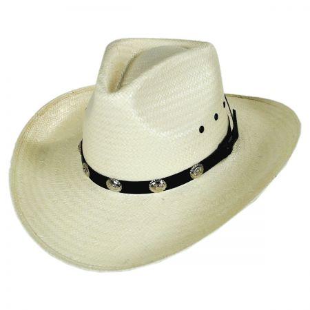Eddy Bros Kent Toyo Straw Western Hat