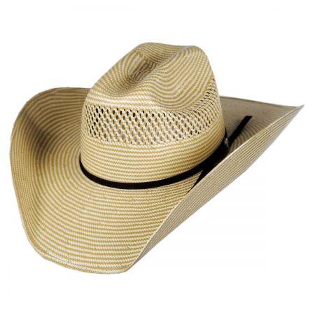 Cassius 7X Toyo Straw Western Hat