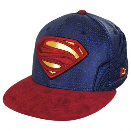 5de159cc262 New Era DC Comics Superman Justice League 59Fifty Fitted Baseball Cap