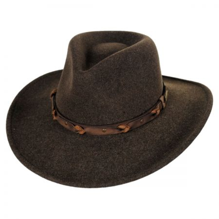 Bailey Palisade Crushable Wool LiteFelt Western Hat