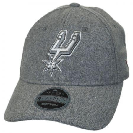 New Era San Antonio Spurs NBA 'Cashmere' 9Twenty Strapback Baseball Cap Dad Hat