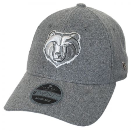 New Era Memphis Grizzlies NBA 'Cashmere' 9Twenty Strapback Baseball Cap Dad Hat