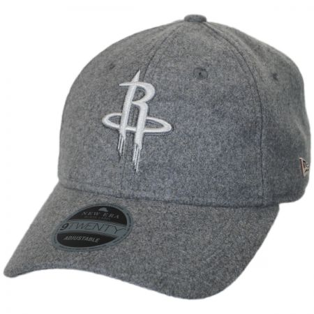 New Era Houston Rockets NBA 'Cashmere' 9Twenty Strapback Baseball Cap Dad Hat