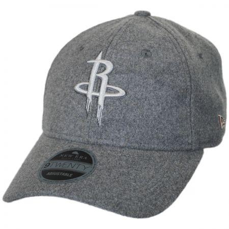 New Era Houston Rockets NBA 'Cashmere' 9Twenty Strapback Baseball Cap