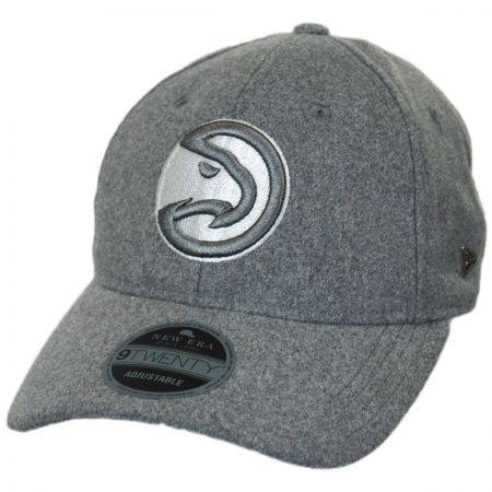 New Era Atlanta Hawks NBA 'Cashmere' 9Twenty Strapback Baseball Cap