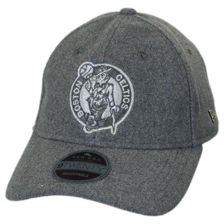 New Era Boston Celtics NBA 'Cashmere' 9Twenty Strapback Baseball Cap