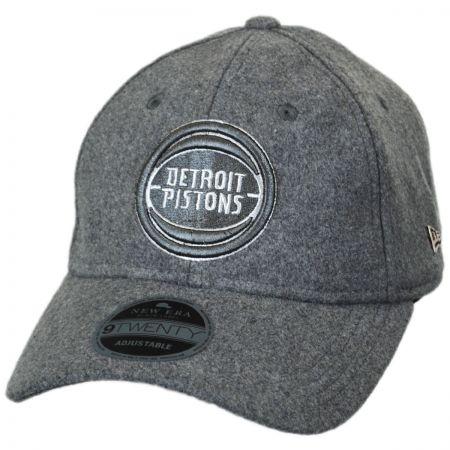 New Era Detroit Pistons NBA 'Cashmere' 9Twenty Strapback Baseball Cap