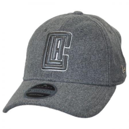 New Era Los Angeles Clippers NBA 'Cashmere' 9Twenty Strapback Baseball Cap