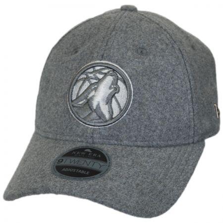 wholesale dealer 2c15e 3cf58 New Era Minnesota Timberwolves NBA  Cashmere  9Twenty Strapback Baseball Cap  Dad Hat