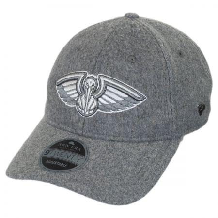 New Era New Orleans Pelicans NBA 'Cashmere' 9Twenty Strapback Baseball Cap Dad Hat