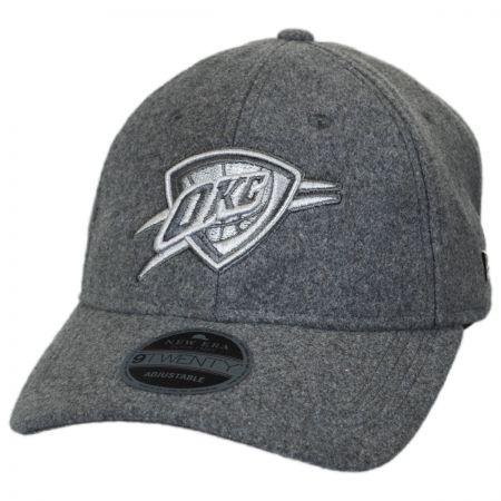 Oklahoma City Thunder NBA 'Cashmere' 9Twenty Strapback Baseball Cap Dad Hat