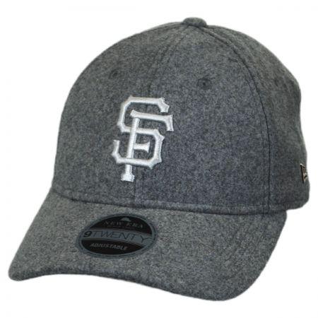 New Era San Francisco Giants MLB 'Cashmere' 9Twenty Strapback Baseball Cap Dad Hat