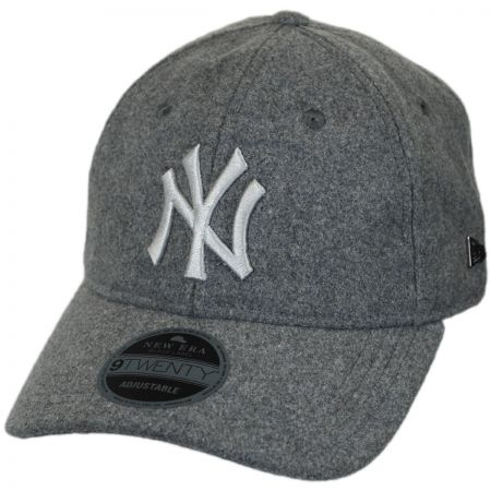 New Era New York Yankees MLB 'Cashmere' 9Twenty Strapback Baseball Cap Dad Hat